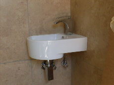 Neat bathroom basin